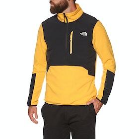 North Face Glacier Pro 1/4 Fleece - Tnf Yellow Tnf Black