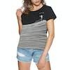 Rip Curl Minimalist Wave Cropped Short Sleeve T-Shirt - Black