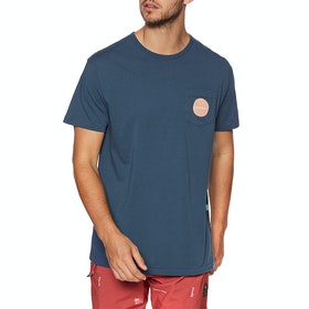 Vissla Barnes Kurzarm-T-Shirt - Dark Denim
