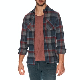 Vissla Ashbury Ls Flannel Hemd - Phantom