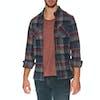Camisa Vissla Ashbury Ls Flannel - Phantom