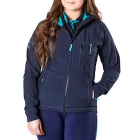 Firefoot Aysgarth Ladies Riding Jacket - Navy Teal