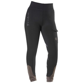 Firefoot Ripon Childrens Riding Breeches - Black Khaki
