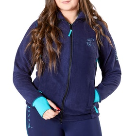 Firefoot Thackley Ladies Fleece - Navy Teal