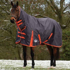 Weatherbeeta ComFiTec Essential Medium Combo Turnout Rug - Iron Flame