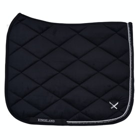 Kingsland Equestrian Waivera Saddlepads - Black