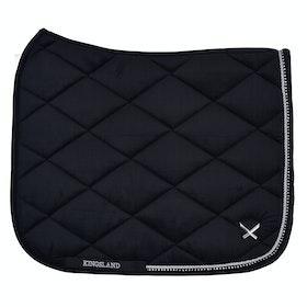 Kingsland Equestrian Waivera Saddle Pad - Black