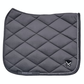 Kingsland Equestrian Waivera Saddlepads - Grey Forged Iron