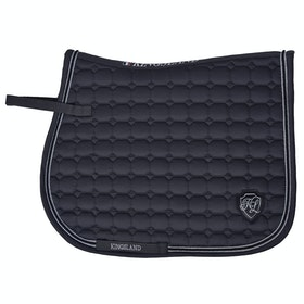 Kingsland Equestrian Zotique Coolmax Saddlepads - Grey Forged Iron