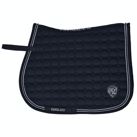 Kingsland Equestrian Zotique Coolmax Sattelpad - Navy