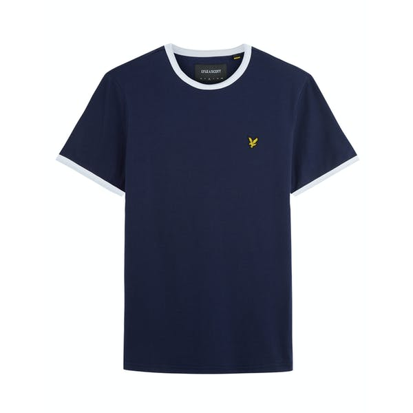T-Shirt a Manica Corta Lyle & Scott Ringer