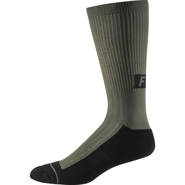 """Fluo Yellow All Sizes Fox Mtb 8/"""" Trail Cushion Lunar Mens Underwear Bike Socks"""