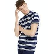 Lyle & Scott Multi Stripe T-Shirt Korte Mouwen