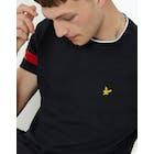 T-Shirt a Manica Corta Lyle & Scott Tipped T-shirt
