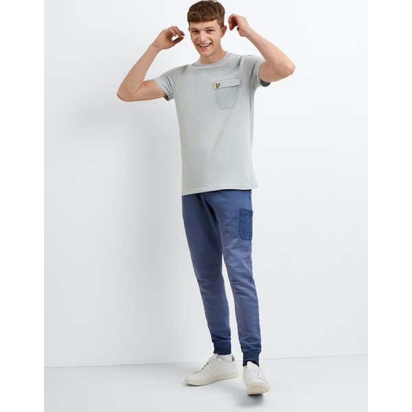 Lyle & Scott Nylon Pocket Short Sleeve T-Shirt