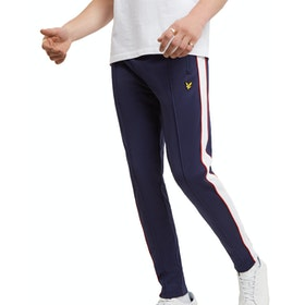 Lyle & Scott Colourblock Trackpant Trainingshose - Navy