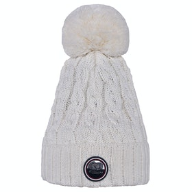 Kingsland Equestrian Iroquis Knitted Ladies Hat - Cream