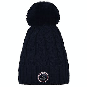 Kingsland Equestrian Iroquis Knitted Ladies Hat - Navy