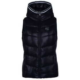Kingsland Equestrian Luc Insulated Hooded Ladies Gilet - Navy