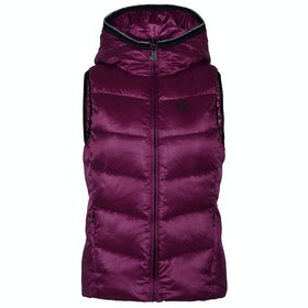 Kingsland Equestrian Luc Insulated Hooded Ladies Gilet - Pink Magenta Haze