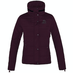 Kingsland Equestrian Moosonee Insulated Short Ladies Riding Jacket - Red Port Royal