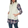 North Face Campshire 2.0 Body Warmer - Vintage White Dove Grey
