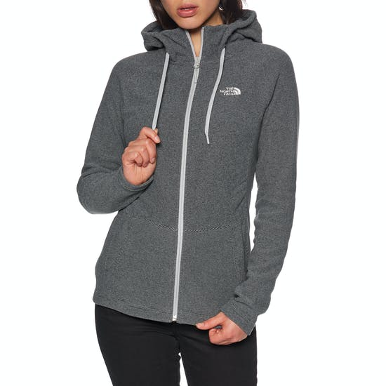 North Face Mezzaluna Dames Hoody met Rits