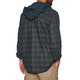 Hurley Crowley Washed Hooded Woven シャツ