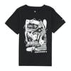 Converse Big Time Chuck Stack Tee Boys Short Sleeve T-Shirt - Black