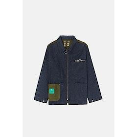 Nigel Cabourn Welders Split Zip Jacket - Army