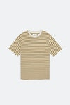 Folk Classic Stripe Kurzarm-T-Shirt