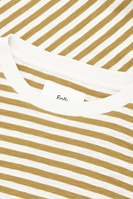 Folk Classic Stripe S S T-Shirt