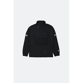 WOOD WOOD Lenny Track Jacket - Black