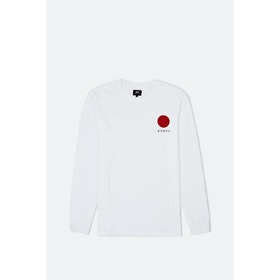Edwin Japanese Sun L S T-Shirt - White