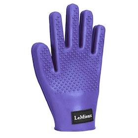 LeMieux Hippo Grooming Mitt - Purple