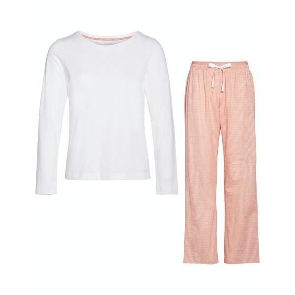 Calvin Klein Pj In A Bag Long Sleeved Pant Set Women's Pyjamas