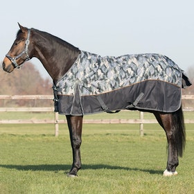 QHP Collection 150g Turnout Rug - Camouflage