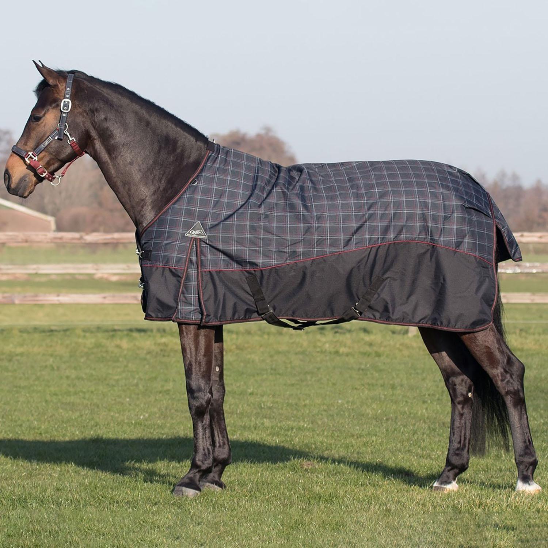 "Sizes 60/"" to 84/"" Saxon Heavy Hunter Green Winter Horse Turnout Blanket"