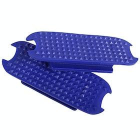 QHP Stirrup Pads Color Stirrup Irons - Cobalt Blue