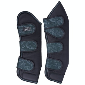 QHP Turnout Collection Travel Boots - Leaves