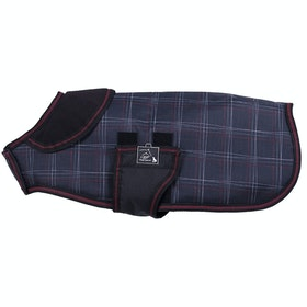 Manteau pour chiens QHP Collection - Dotted Check