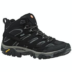 Merrell Moab 2 Mid GTX ウォーキング用ブーツ - Black