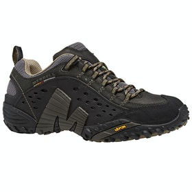 Merrell Intercept Walking Shoes - Smooth Black