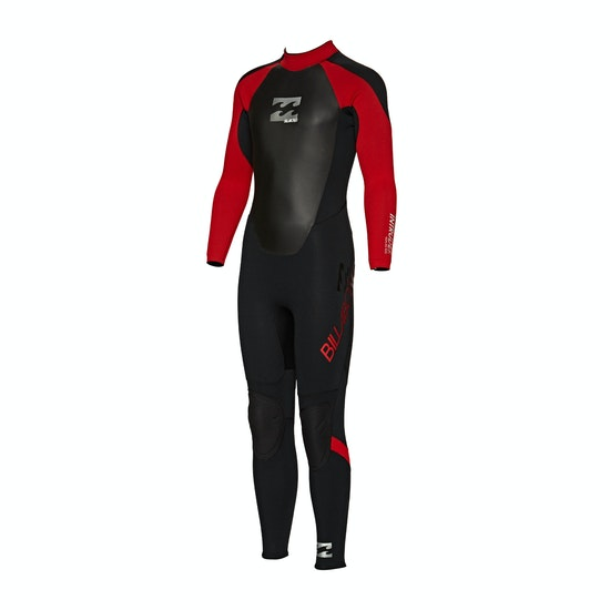 Billabong Intruder 4/3mm Back Zip Kids Wetsuit