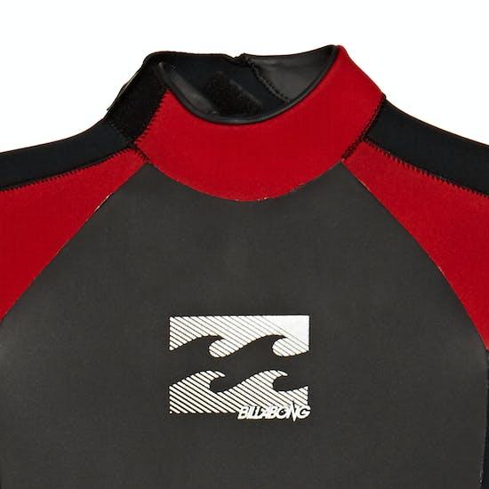 Billabong Intruder 4/3mm 2020 Back Zip Kids Wetsuit
