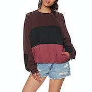 Hurley O and O Dolman Fleece Crew Sweater