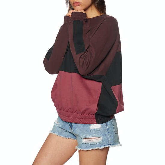 Hurley O and O Dolman Fleece Crew Sweater