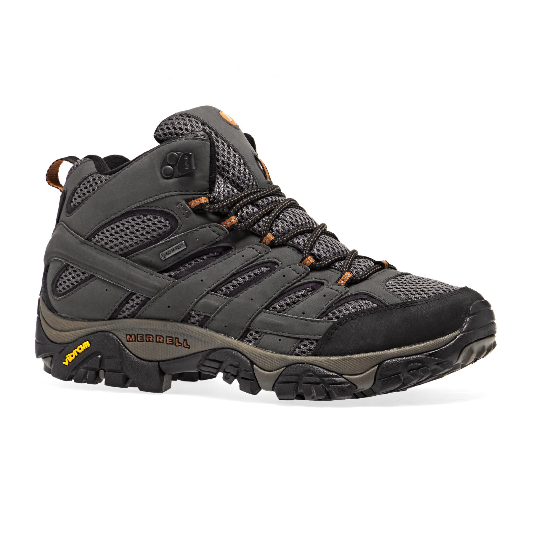 merrell moab gore tex boots 10