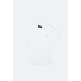 Fred Perry x RAF Simons Lrl Detail S S T-Shirt - White