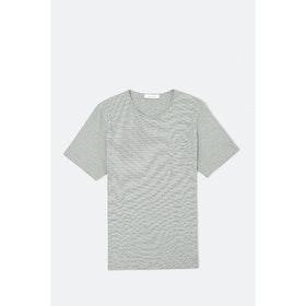 Samsoe Samsoe Finn St 11066 S S T-Shirt - Sea Cream St